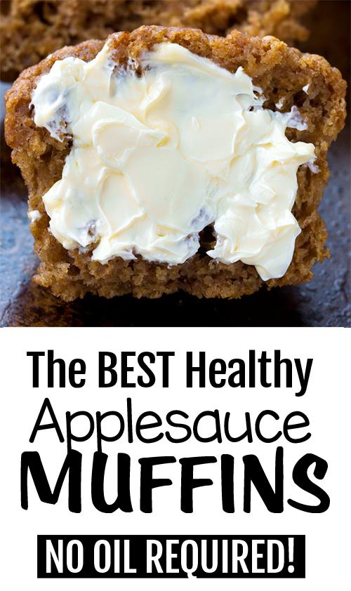 Easy Vegan Applesauce Muffins Applesauce Muffins Homemade Applesauce Vegan Applesauce Muffins