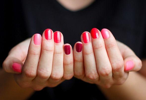 #lila #glitter #gelnails #gel #nagelterapeut | Gel nails