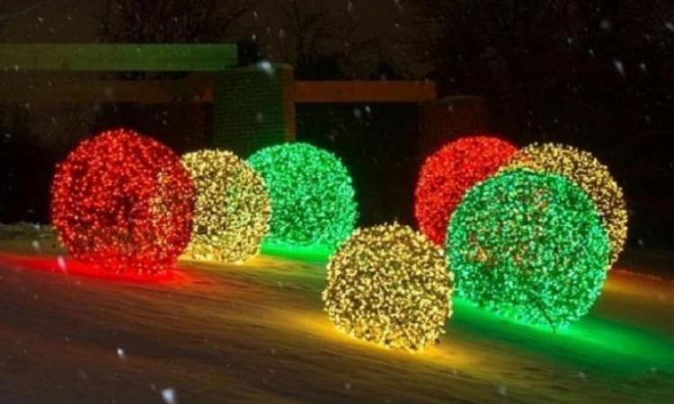 Comment fabriquer des boules géantes de lumières pour décorer l\u0027extérieur!
