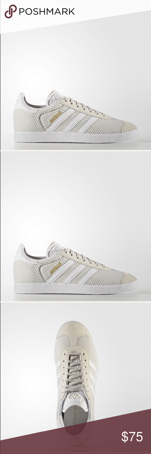 Adidas Talccloud Gazelle Cut Whitetalc 9 5 Low Women's New stdrQxohCB