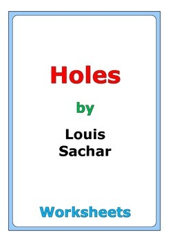a plot review of louis sachars book holes Plot this article's plot camp green lake is a juvenile detention center, where inmates spend most of their time digging holes the majority of the book takes place between the past and present as louis sachar states.