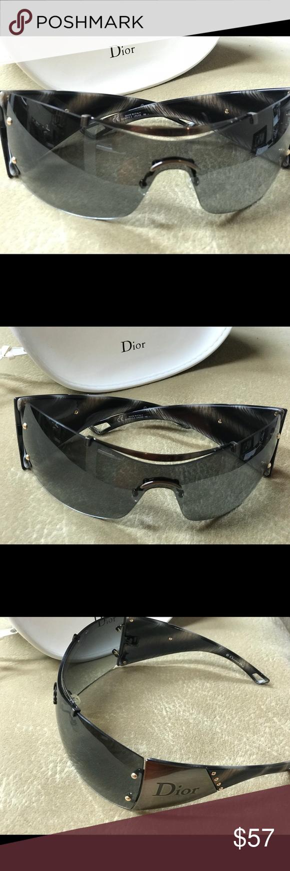bcc96f8e632 CHRISTIAN DIOR DIORITO 2 Sunglasses LRUVK 110 CHRISTIAN DIOR DIORITO 2  Sunglasses LRUVK 110 grey sand Barely used. The glasses in excellent  pre-owned ...