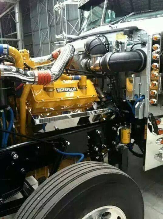 Caterpillar 3408 | 18 Wheeler Group Board | Semi trucks, Big trucks, Show trucks