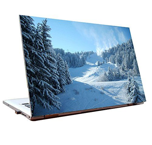 Tamatina Laptop Skin 15 6 Inch Nature Beauty Snow Valley