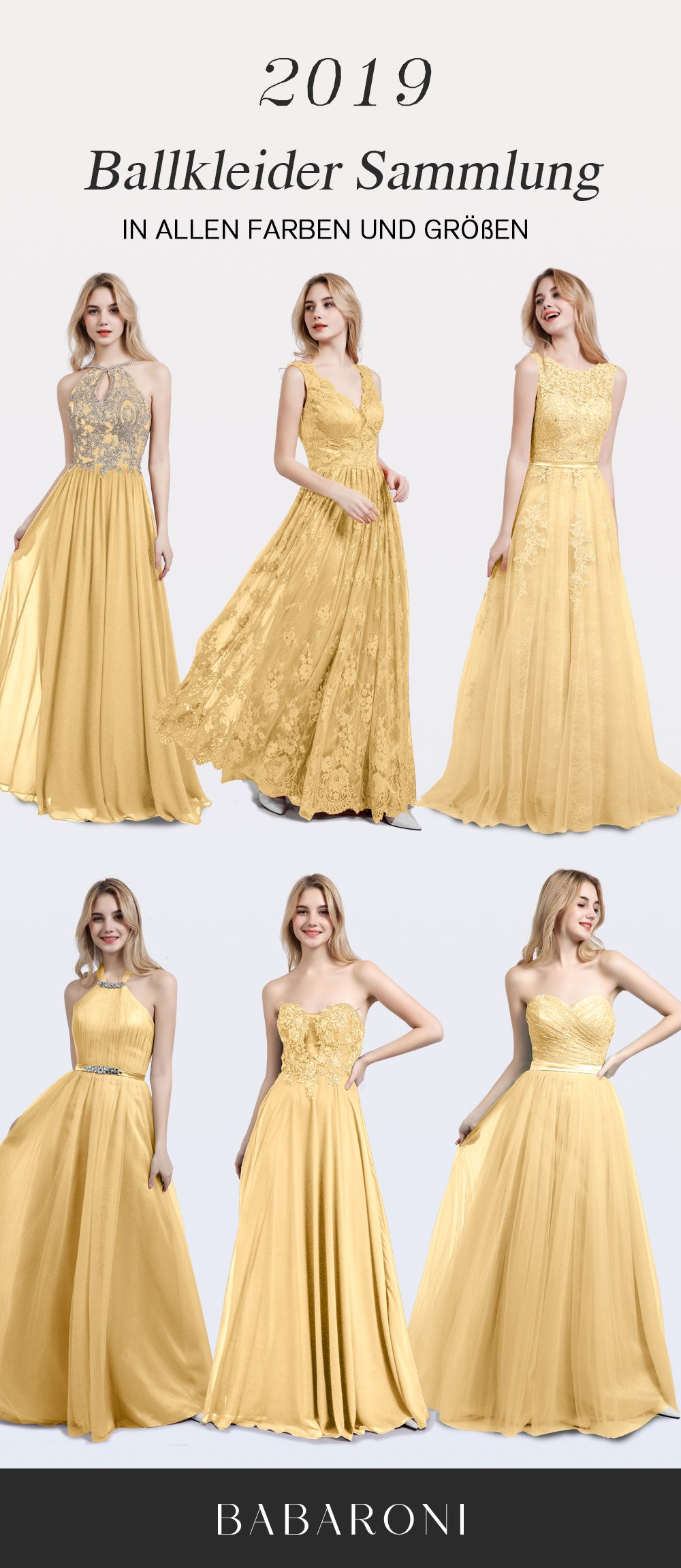 Gold Abendkleider  Gold abendkleider, Abendkleid, Abendkleider