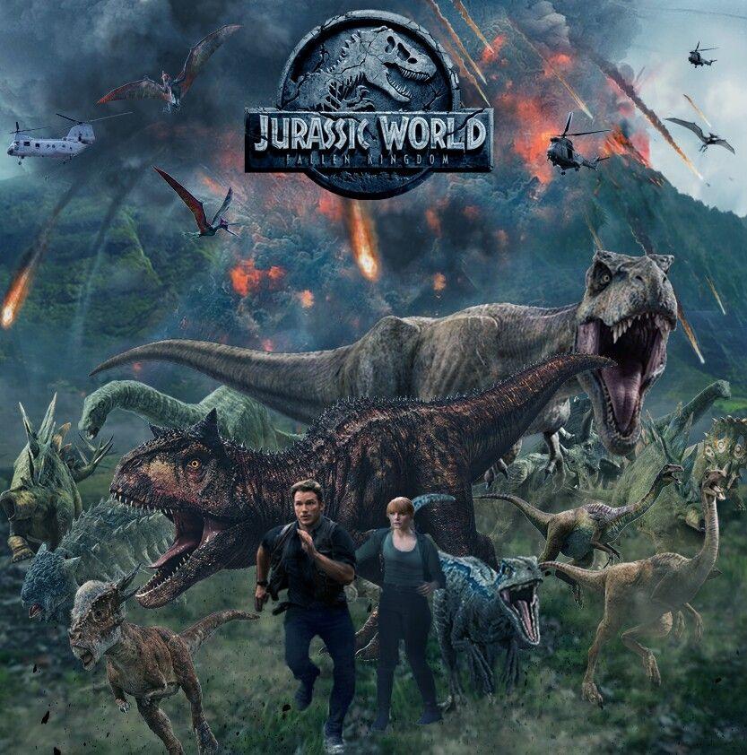 Jurassic Worlds Reino Ameacado Poster Jurassic Park Wallpaper