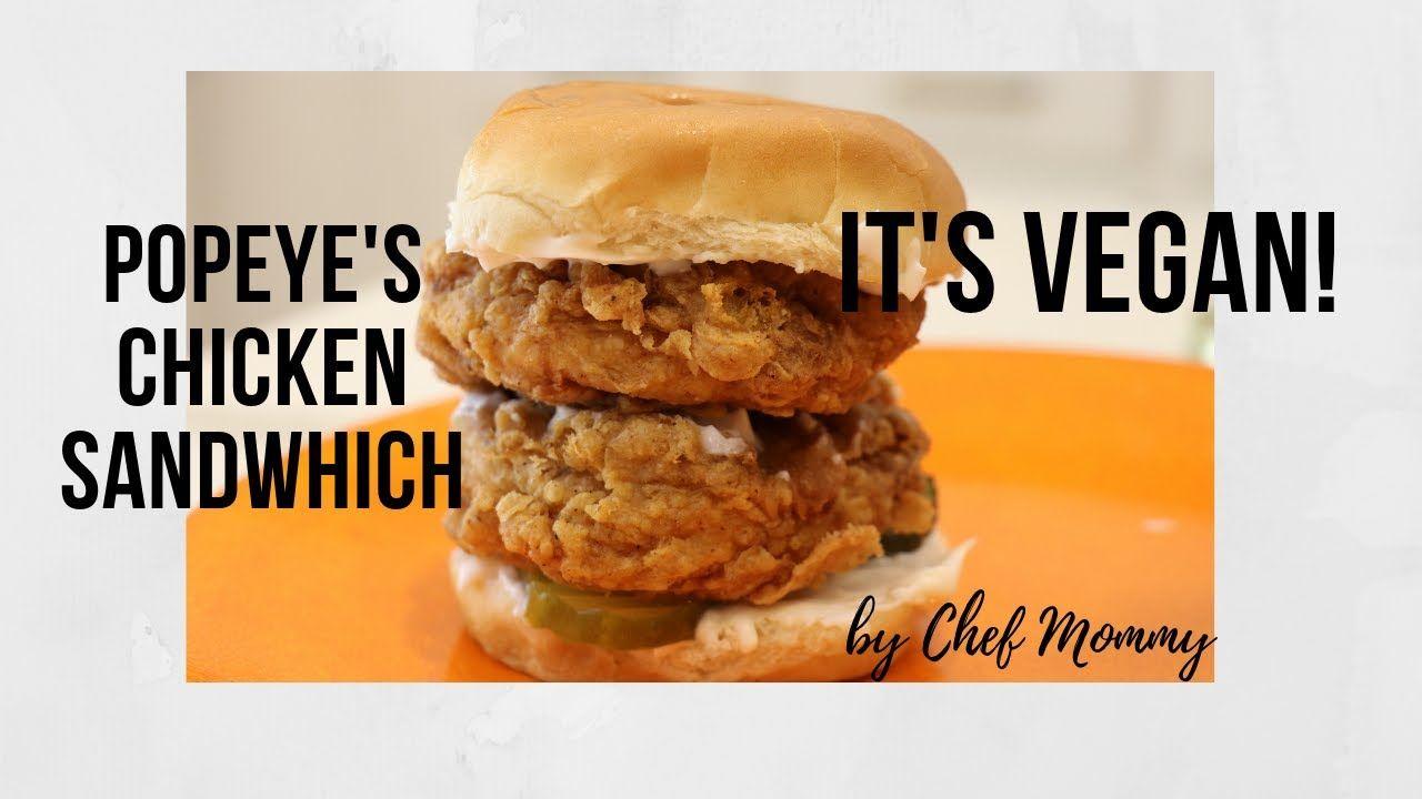 Popeye's Chicken Sandwich Veganized!