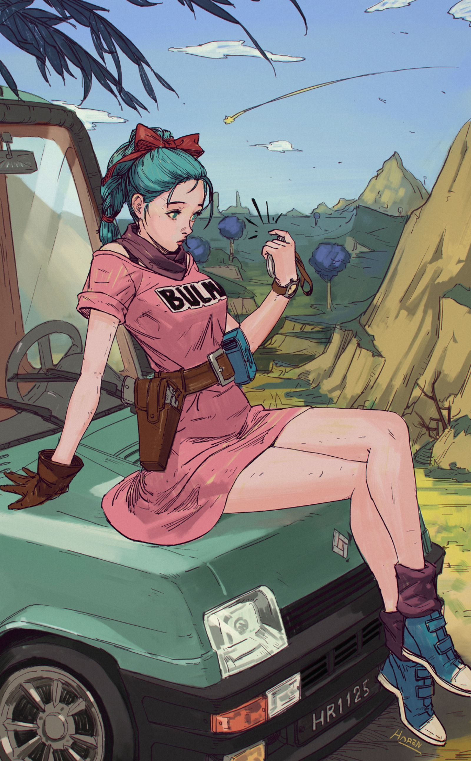 Bulma Dragon Ball Anime Anime Characters