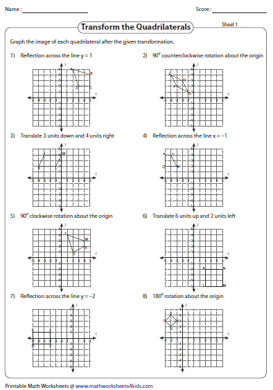Pin By Ommeroludy On Rrrrrrr Quadrilaterals Graphing Reflection