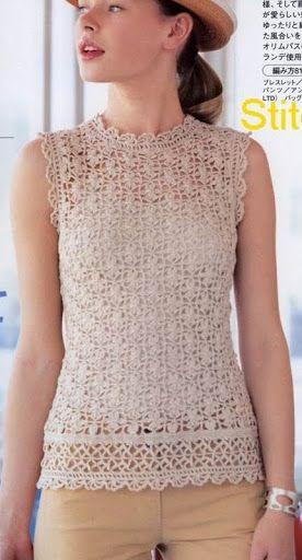 blusas - Donna Taylor - Álbuns da web do Picasa | CROCHET BOOKS ...