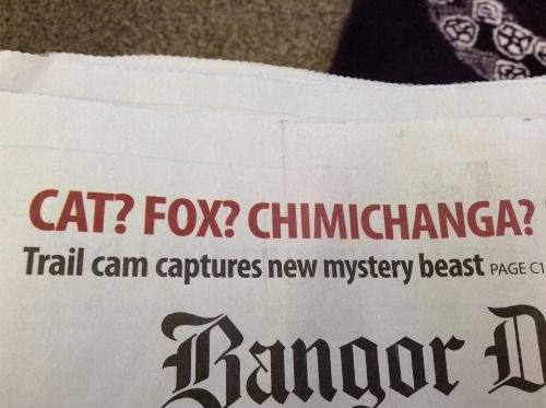 I think they meant Chupacabra...