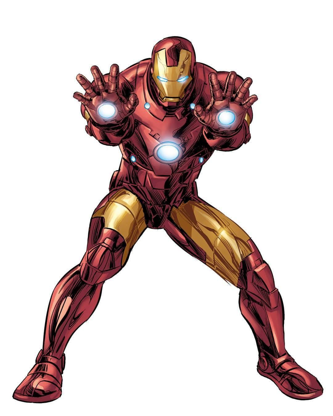 - Iron Man By Mike Deodato Jr. Colors By Rain (With Images) Iron
