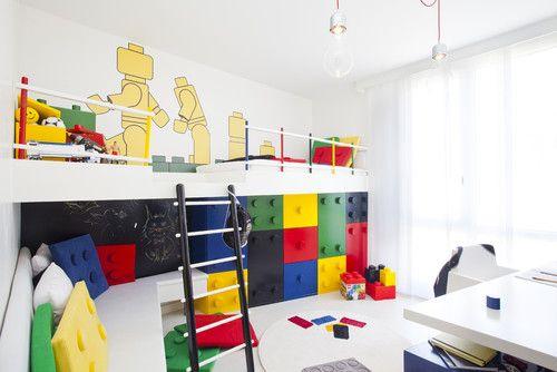 #KINDERZIMMER Designs Kinderzimmer Ideen: Lego Raumdekor #Dekoration Ideen  #Dekoration #Kinderzimmer