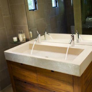 bathroom sink trough sink bathroom