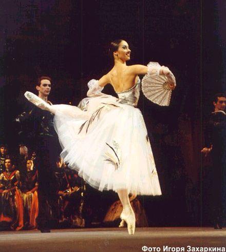 Maria Allash, Bolshoi Ballet, 2002 Honored Artist of Russia. Gorgeous costume.