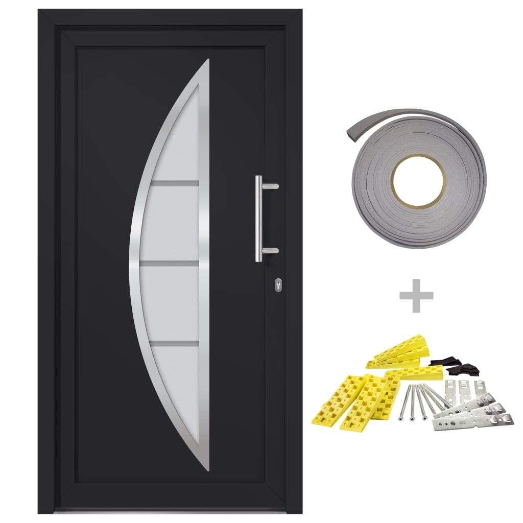 Front door anthracite 108×208 cm
