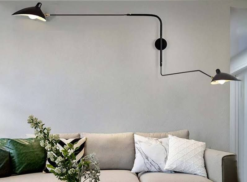 Modern Wall Light Swing Arm L I G H T In 2019
