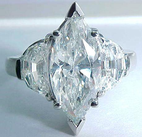 images of 2 carat marquis diamond rings   Diamond Shape: Marquise Cut Diamond