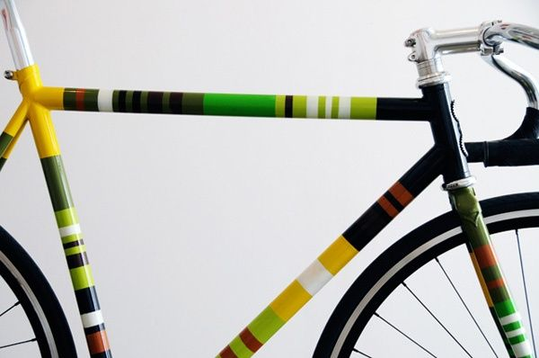 Hand-painted bike frame   Transportation   Pinterest   Bike frame ...