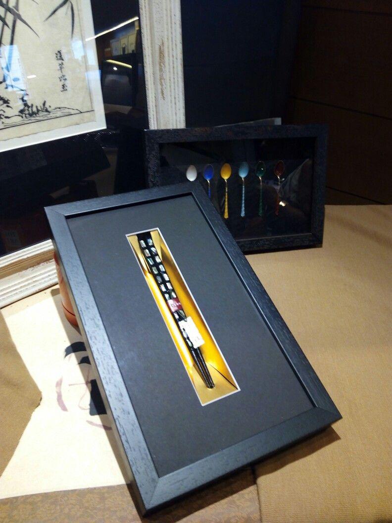 Marco para palillos japoneses   Marcos y cuadros   Pinterest ...