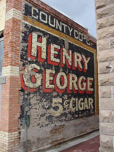 5 Cent Cigar Advertising Signs Ghost Signs Old Signs