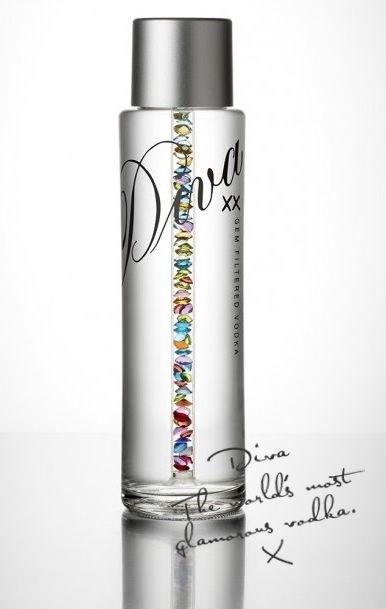 Diva Vodka Blue Swarovski : Buy from