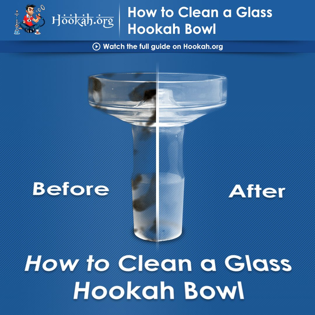 How To Clean A Glass Hookah Bowl Hookah Cleaning Glass
