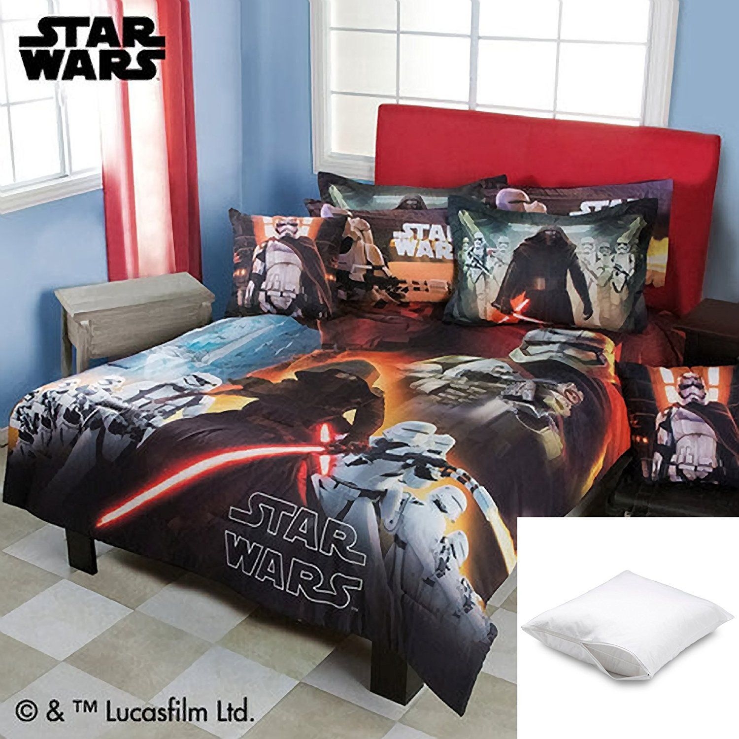 wars lostcoastshuttle star twin create full comforter bedding set image of a