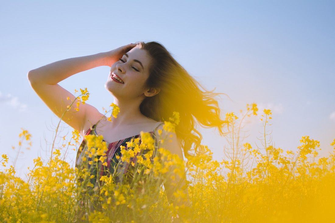 natural light photography | canola fields