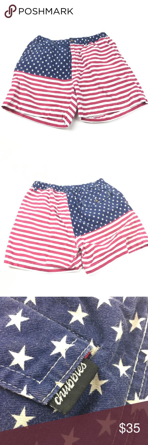 Chubbies American Flag Print Shorts American Flag Print Printed Shorts Chubbies Shorts