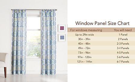 Lichtenberg Laurel Heathered Semi Sheer 40 X 95 Panel Curtains