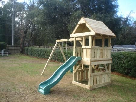 Tallahassee Swing Sets By Design   Custom Built Swingsets And Playground  Equipment