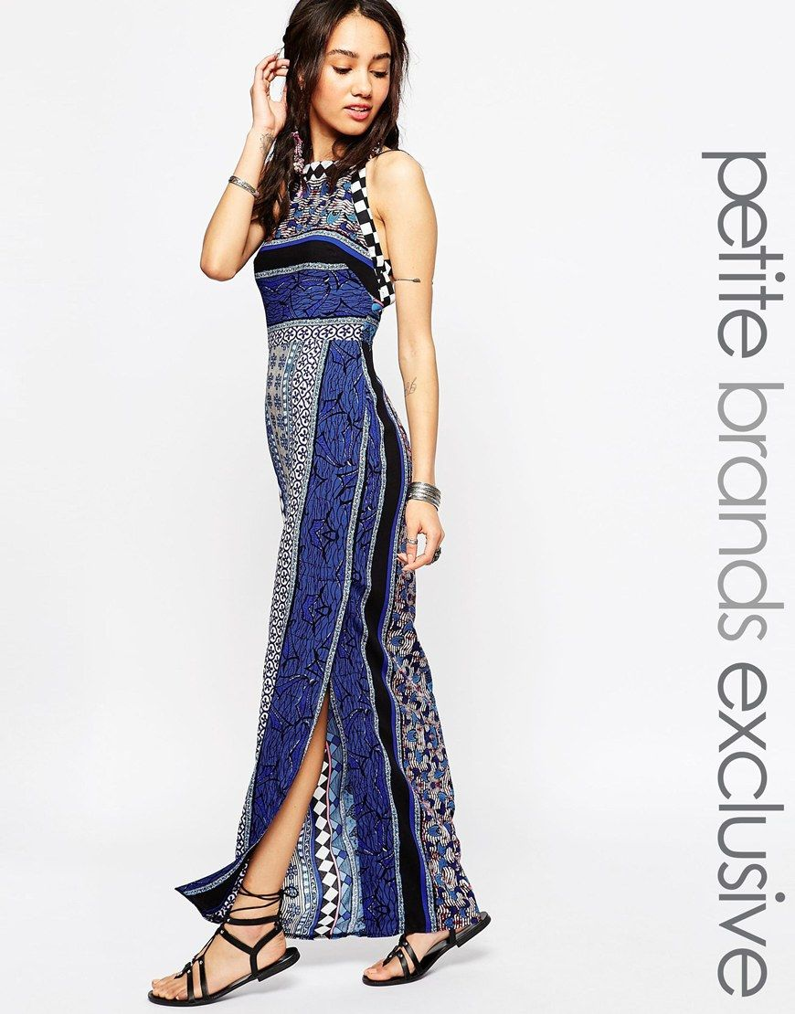 Image 1 of Tiger Mist Petite Tapestry Print Maxi Dress | Fashion ...