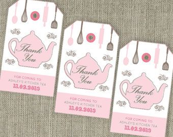 Kitchen tea teapot bridal shower tea thank you party bag swing kitchen tea teapot bridal shower tea thank you party bag swing tags filmwisefo Gallery