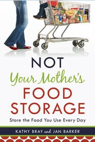 A book about how to get a 3 month food storage with recipes and without going crazy.