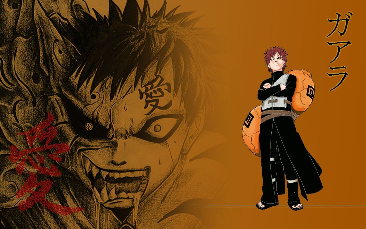 Gaara Demon Of The Sand