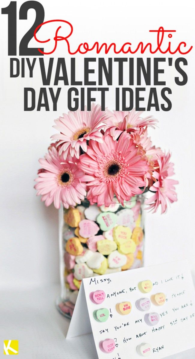12 Diy Valentine S Day Gift Ideas