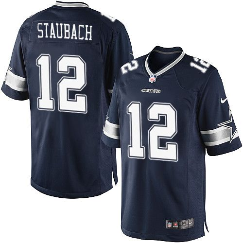 edd0e0917fb Nike Limited Roger Staubach Navy Blue Men's Jersey - Dallas Cowboys #12 NFL  Home