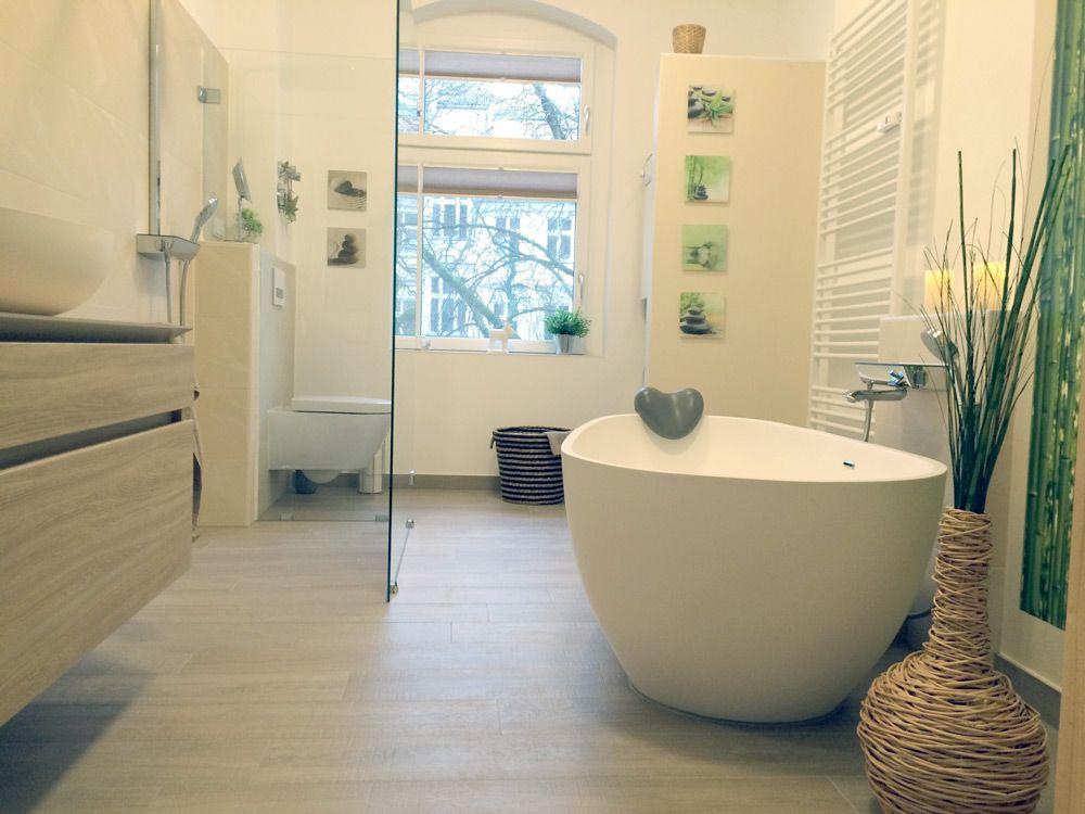 freistehende Badewanne BW-01 XL Mineralguss Referenzbilder - freistehende badewanne