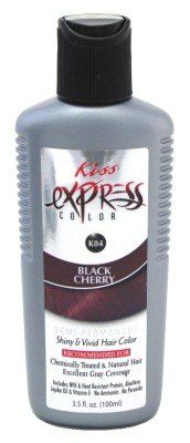 Kiss Express Color Semi Permanent Black Cherry 3 5oz