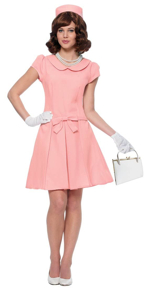 Pink First Lady Adult Costume - Halloween Costumes