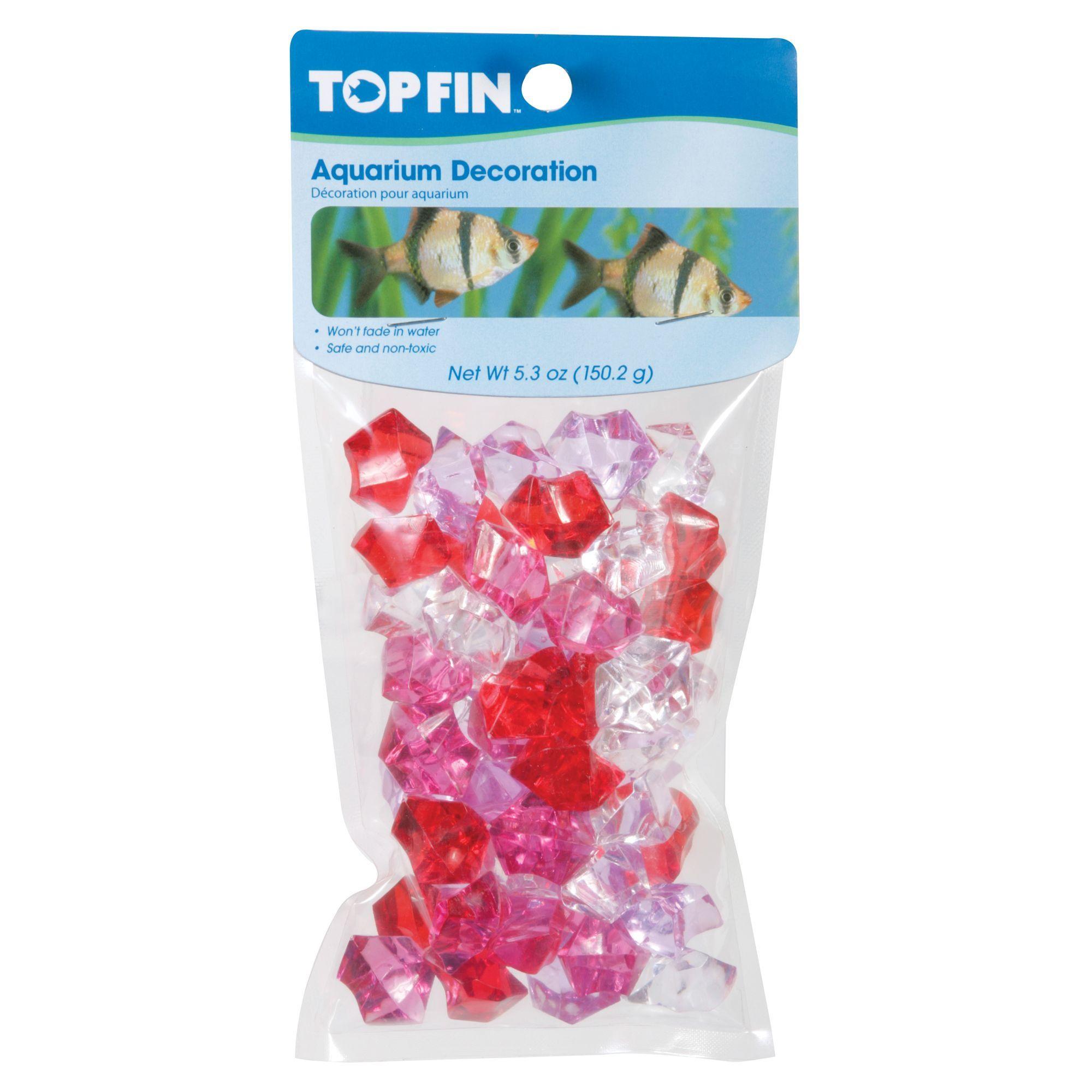 Top Fin Aquarium Decoration, Red Products Aquarium