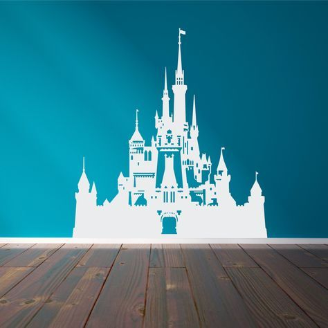 Disney Castle Wall Decal Wall decals and Amigurumi