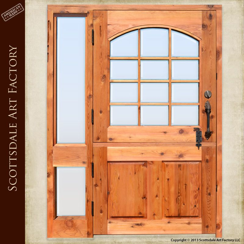 Cedar Dutch Door With Side Ligth  Google Search Part 41