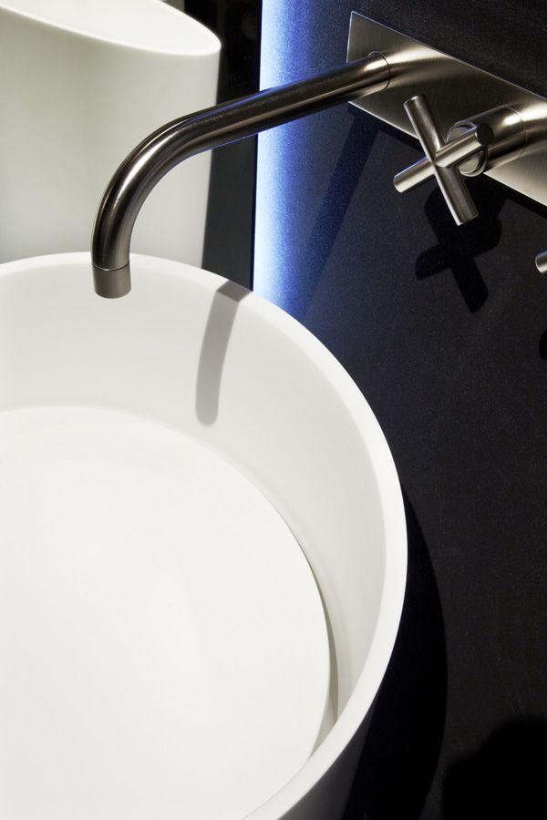 Stand Rifra at Salone del Mobile 2014 in Milan. #Design #Bathroom #HIMACS
