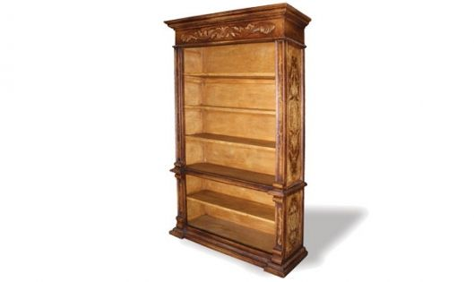 Old World Bookcase Dahan The Koenig