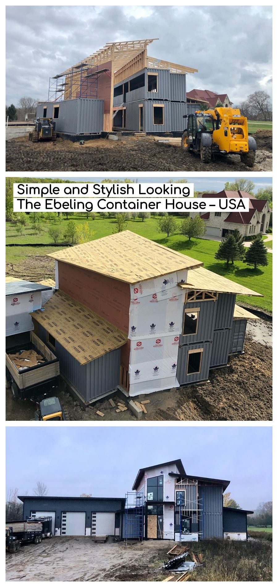 Simple And Stylish Looking The Ebeling Container House Detroit