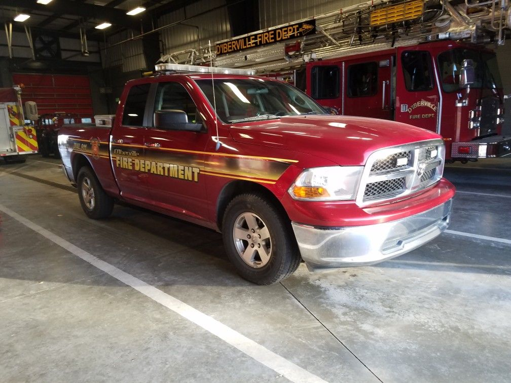 D'Iberville Captain's Truck Emergency service, Vehicles