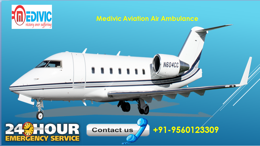 Medivic Aviation Air Ambulance Patient Transfer Service is