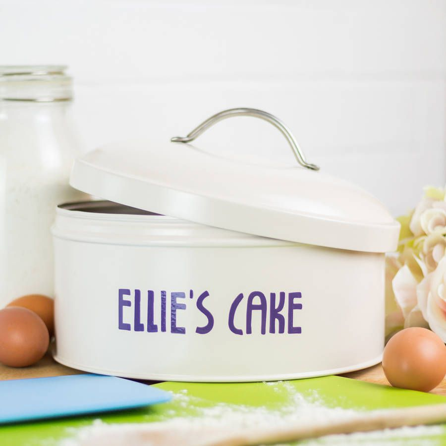 Personalised Cake Tin Australia